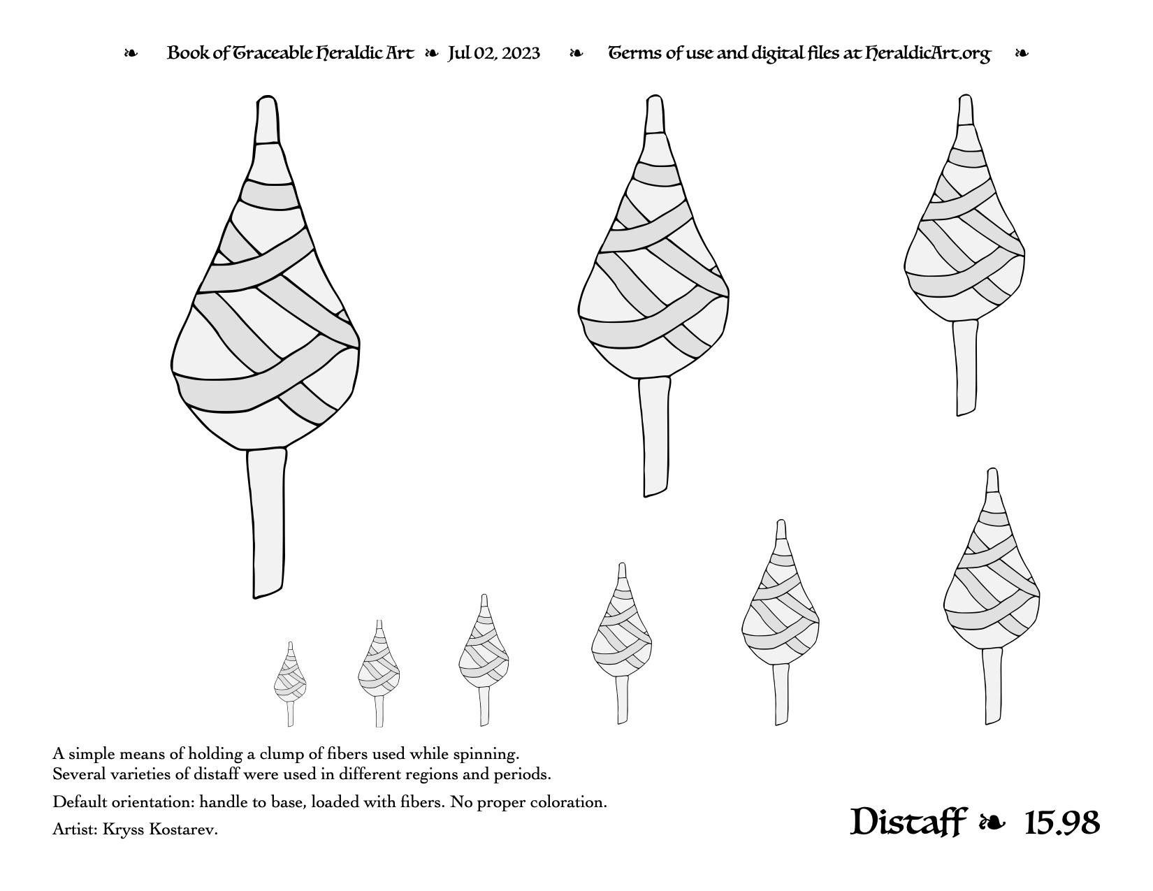 Distaff traceable heraldic art page 14172 pdf png sciox Gallery