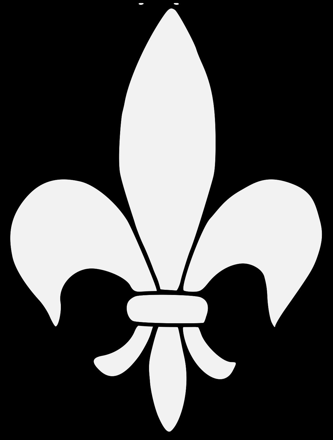 Fleur de Lys - Traceable Heraldic Art