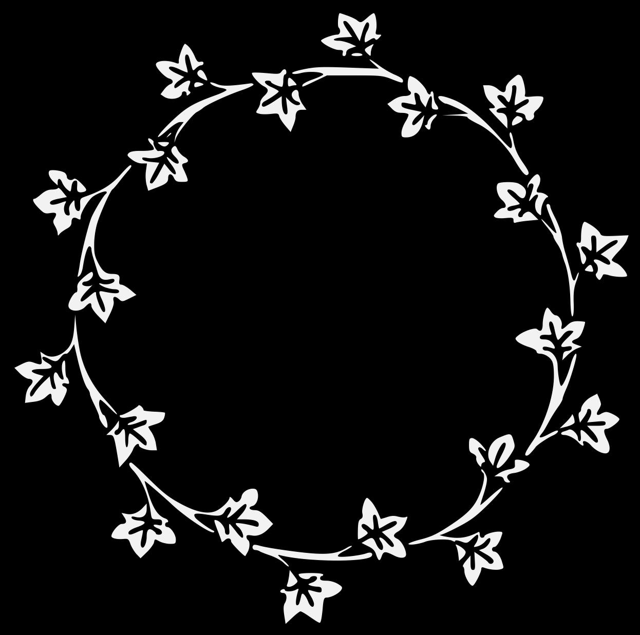 Ivy Traceable Heraldic Art