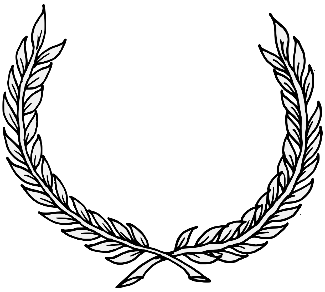 laurel traceable heraldic art Olive Branch Art Olive Garden Clip Art