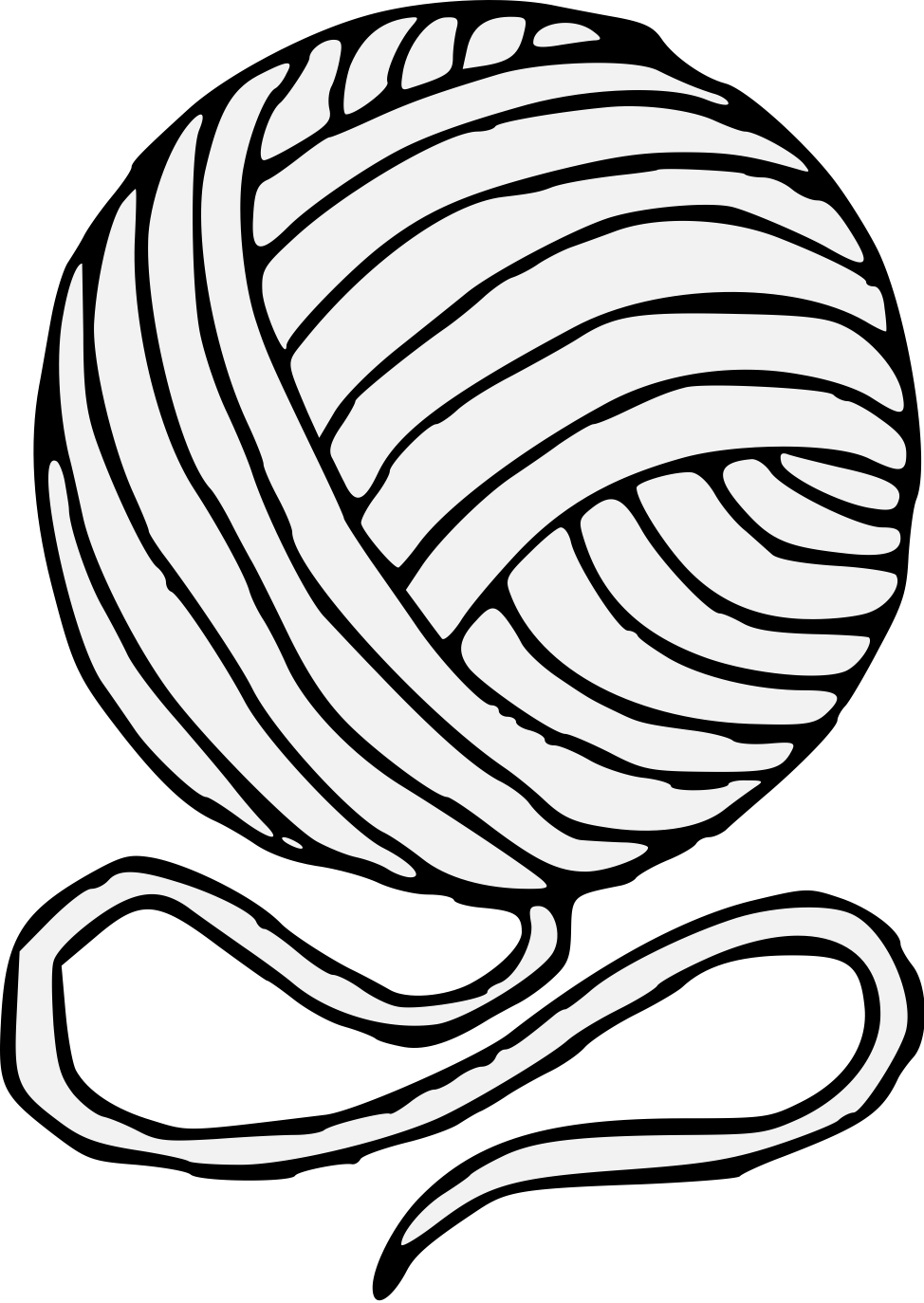yarn traceable heraldic art